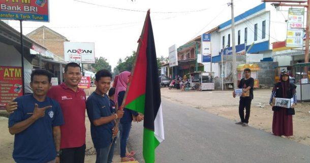 Pemuda Way Sulan Peduli Palestina, ACT Lampung Sambut Baik
