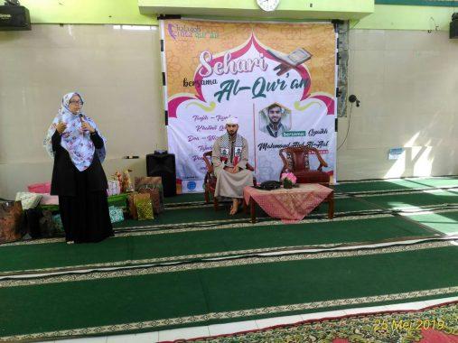 Halaqoh Cinta Quran Binaan Yuni Karnelis Hadirkan Syekh Mahmoud Abd Al 'Aal Asal Palestina