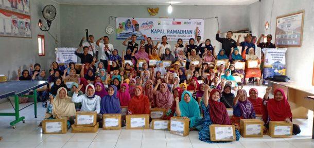 Kapal Ramadan ACT Lampung Singgahi Warga Pulau Tegal, Legundi, dan Sebesi