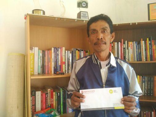 Kapolsek Kedaton Terima Laporan Sopir Bus Puspa Jaya Dilempar Batu di Tegineneng