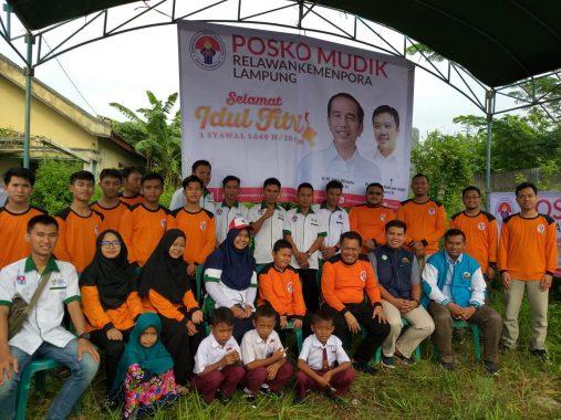 Bupati Dewi Handajani Tinjau Pos Pengamanan Mudik Tanggamus