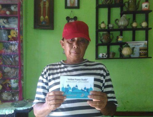 PUASA DUAFA: Asep Bertahun-Tahun Jadi Juru Parkir untuk Hidupi Keluarga