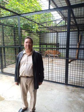 Pj Gubernur Lampung Boytenjuri Kunjungi Pusat Konservasi di Tambling