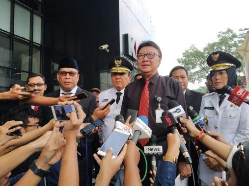 Usai Dilantik, Difasilitasi Mendagri, Arinal-Nunik Bertemu Ketua KPK