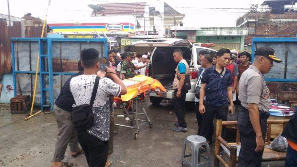 Mayat Pria Ditemukan di Jalan Martadinata Telukbetung Selatan