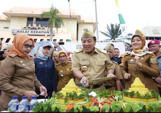 Risma Al Barokah BKP Kemiling Halalbihalal Syawal Ceria