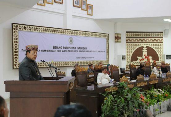 Wakil Gubernur Chusnunia Serahkan SK 7 Plt Kadis dan Kepala Biro Pemprov Lampung