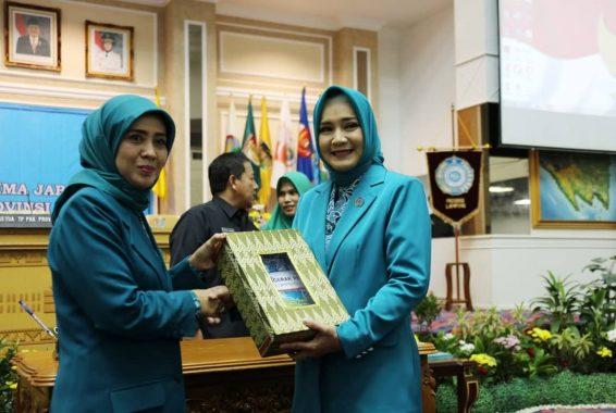 Ny Riana Sari Arinal Dilantik Jadi Ketua Tim Penggerak PKK Lampung