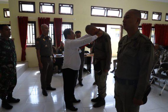 Sekda Lampung Barat Buka Pembekalan Polisi Pamong Praja