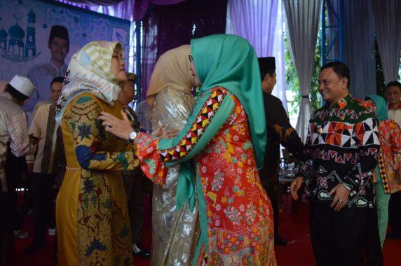 Bupati Tanggamus Dewi Handajani Hadiri Halalbihalal dengan Gubernur dan Wakil Gubernur Lampung