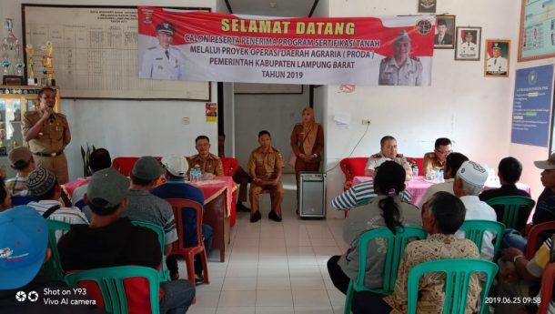 Pemkab Lampung Barat Dukung Penuh Prona