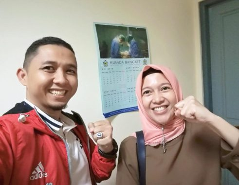 Handrie Kurniawan Sua Anna Morinda, Tanda-Tanda Koalisi PKS-PDIP Pilkada Kota Metro 2020-Kah? Cekidot Guys