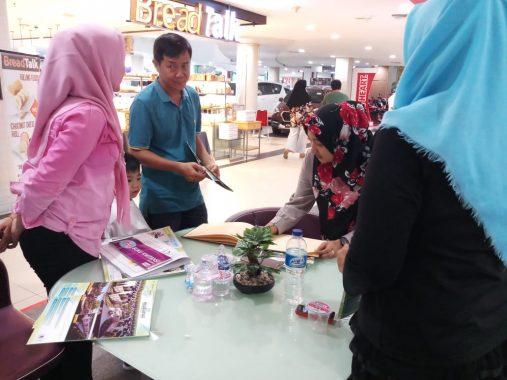 Stan Perumnas Bandar Lampung di Chandra Tanjungkarang Ramai Dikunjungi Pemesan Rumah Cluster Mutiara BKP Kemiling