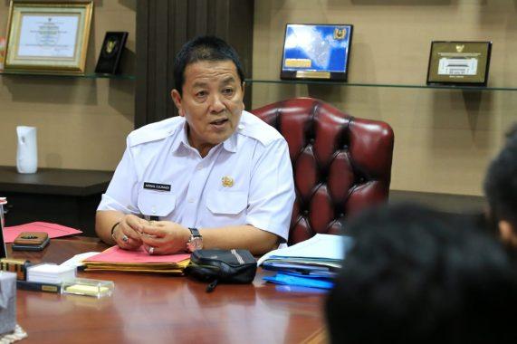 Gubernur Arinal Djunaidi Tonton Badak Lampung Vs PSIS Semarang