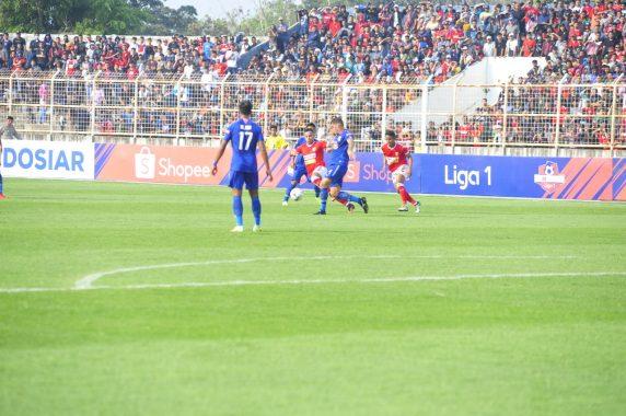 Hadapi PSIS Semarang di Stadion Sumpah Pemuda PKOR, Badak Lampung Kalah 0-1