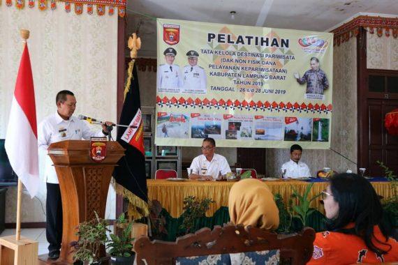 Pemkab Lampung Barat Gelar Pelatihan Tata Kelola Destinasi Wisata