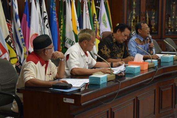 KONI Lampung Persiapkan Rapat Anggota Tahunan Pada 12 Juli 2019