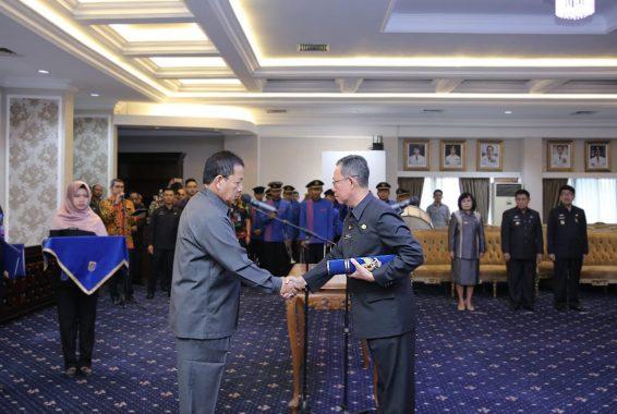 Fahrizal Darminto Jadi Penjabat Sekda Lampung