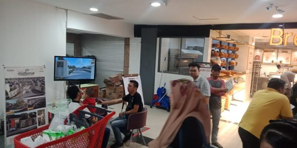 Stan Perumnas Bandar Lampung di Chandra Tanjungkarang Makin Ramai Dikunjungi Calon Pembeli Cluster Mutiara BKP Kemiling