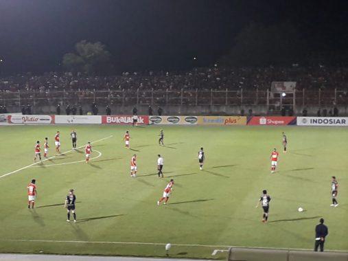 Babak Pertama, Badak Lampung FC Tertinggal 0-1 dari Bali United