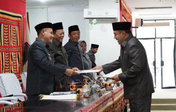 Nanang Ermanto Sampaikan Raperda Pertanggungjawaban Pelaksanaan APBD Lampung Selatan 2018