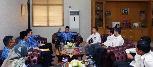 Audiensi dengan Plt Bupati, PLN Kalianda Janji Tambah Penerangan di Sejumlah Wilayah Lampung Selatan