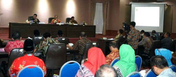 Rakor Bulanan Pemkab Lampung Selatan Fokus Bahas Kesiapan Pilkades Serentak 2019