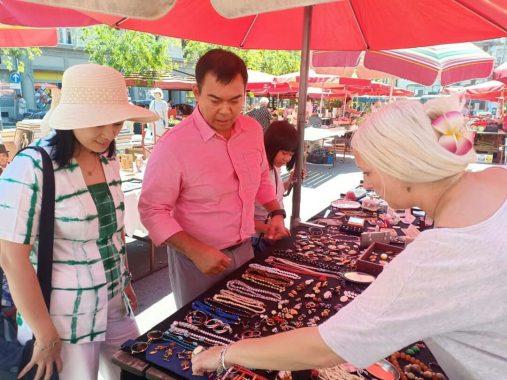 Rycko Menoza Temukan Kearifan Lokal di Pasar-Pasar Tradisional Kroasia