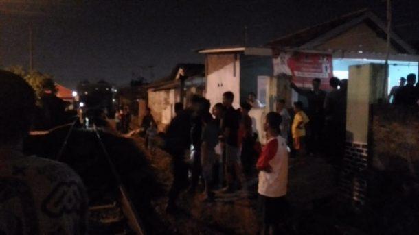 Sukarni Warga Jalan Danau Towuti Kelurahan Surabaya Tewas Tertabrak Kereta Api