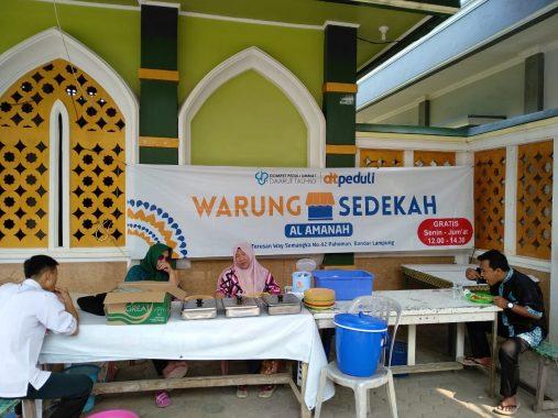 Warung Sedekah Al Amanah DT Peduli Lampung Kembali Beroperasi