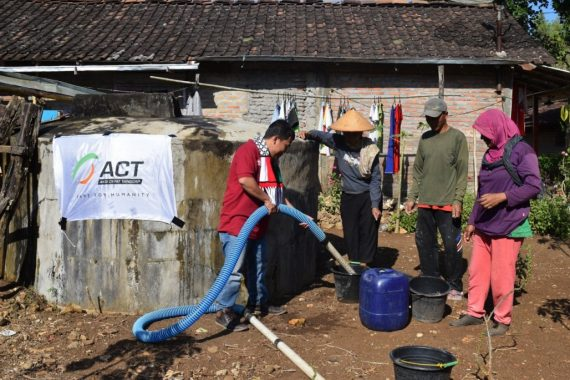 ACT Siap Pasok Air Bersih di Sejumlah Daerah di Pulau Jawa Alami Kekeringan