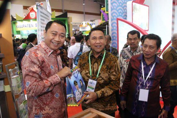 Bupati Lampung Utara Agung Ilmu Mangkunegara Hadiri Apkasi Otonomi Expo di JCC