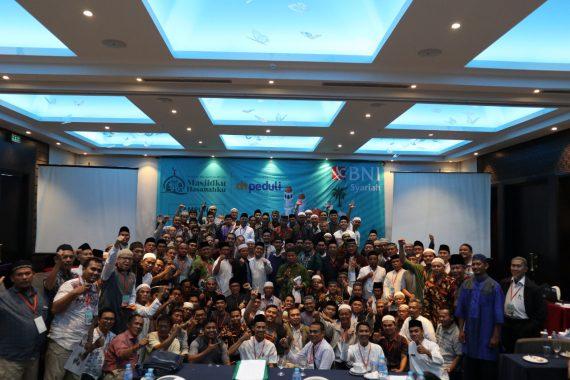 Peserta Pelatihan Manajemen Masjid Gelaran BNI Syariah dan DT Peduli Lampung Membeludak