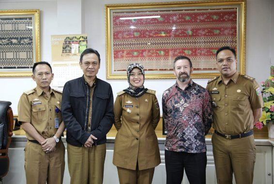 Pemprov Lampung-Australia Perluas Kerja Sama di Berbagai Bidang