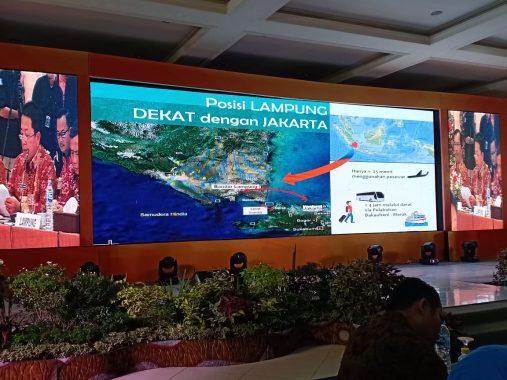 Gubernur Arinal Djunaidi Paparkan Kesiapan Lampung Jadi Ibu Kota RI, Kepala Daerah Se-Sumatera Dukung Penuh