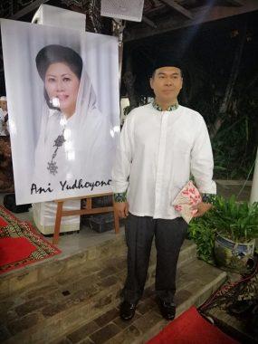 Rycko Menoza Hadiri 40 Hari Wafatnya Ani Yudhoyono di Puri Cikeas