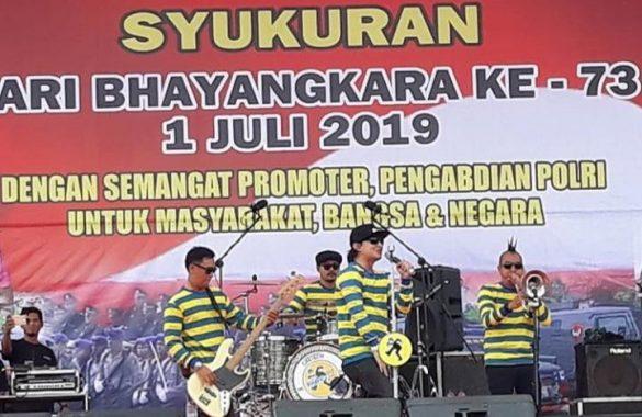 Band Tipe-X Hibur Publik Lampung Hari Ini di Lapangan Saburai