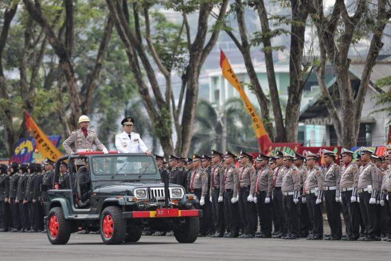 HUT Ke-73 Bhayangkara, Ini Pidato Kapolda Lampung