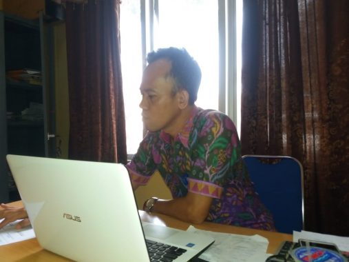 Bendahara Dinas Pendidikan Lampung Utara Dahlan Adam Dukung Pemerintahan Bersih
