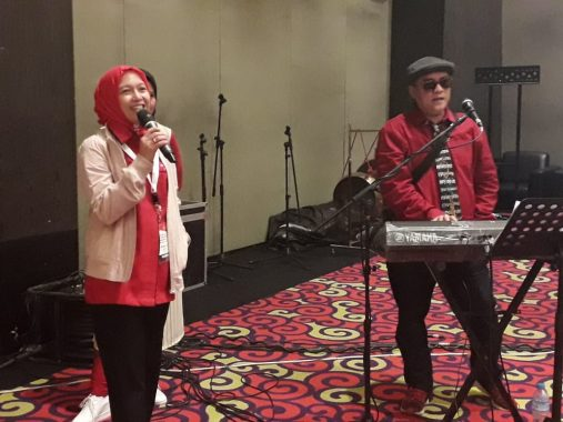 PDIP Lampung Gelar Konferda dan Konfercab di Hotel Novotel, Ini Ringkasan Pidato Ketua DPD Lampung Sudin