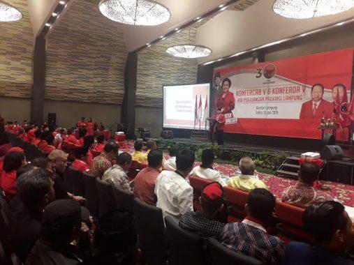 Jeda Konferda-Konfercab PDIP Lampung, Anna Morinda Sumbang Suara Emas