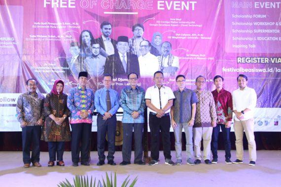 Gubernur Lampung Arinal Djunaidi Dukung Festival Wish