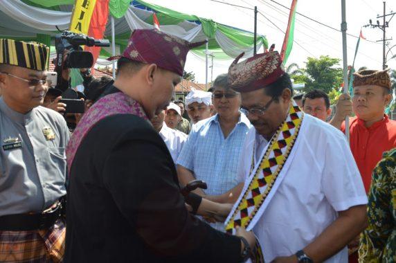 Jaksa Agung HM Prasetyo Tinjau Bakti Sosial di Tanggamus