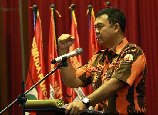 Rycko Menoza Hadiri Pelantikan Satuan Pelajar-Mahasiswa Pemuda Pancasila Bandar Lampung