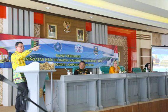 Puncak Hari Keluarga Nasional Tingkat Lampung Bakal Digelar di Lapangan Merdeka Labuhan Jukung Krui
