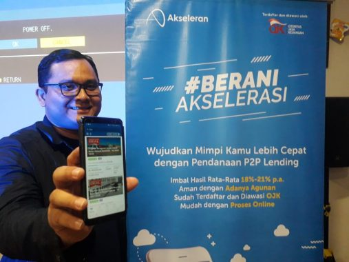Investor Akseleran di Lampung Jumlahnya 500-an Orang