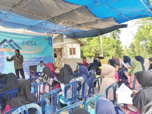 Mitra Bentala dan BEM Unila Ajarkan Warga Batuputu Bandar Lampung Kelola Bank Sampah