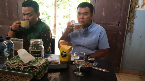 Rycko Menoza Dukung Pengembangan Robusta Lampung