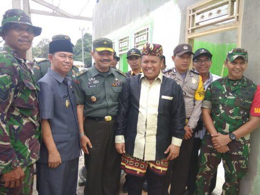 Kodim Lampung Utara Sambut Brigjen Amalsyah Tarmizi dan Inspektur Kemenpora Ibnu Hasan