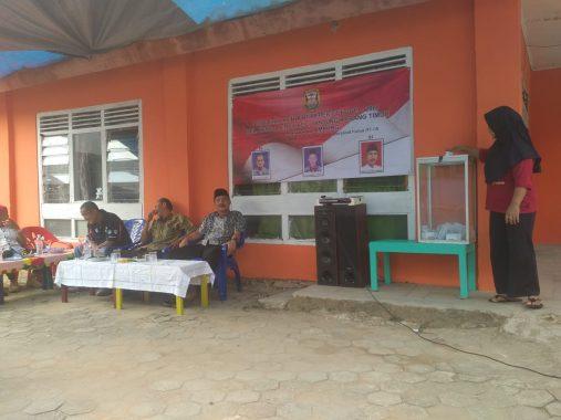 Warga RT 8 Kelurahan Kebonjeruk Bandar Lampung Nyoblos Hari Ini
